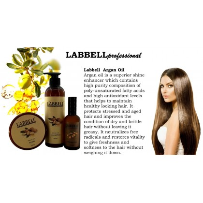 Labbell Argan Hair Oil 100ml purity neutralize free radicals antioxidant