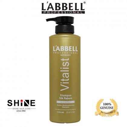 Labbell Reborn Shampoo Conditioner 1000ml set hair rambut iron lurus straight straightening rebond rebonding