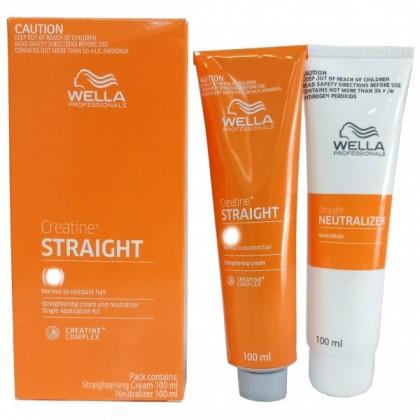 WellaStrate Hair Straight it Ubat Lurus Rambut Wella Labbell  Rebonding 100ml