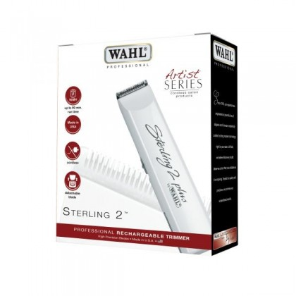 Wahl Sterling 2 PLUS Rechargeable Cordless Trimmer Barber Salon