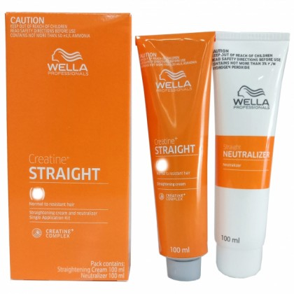 WellaStrate Hair Straight it C Ubat Lurus Rambut Wella Rebonding MILD 100ml